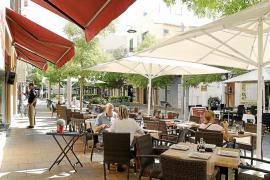 El Pacte acuerda con Restauración la ocupación en las terrazas de Palma