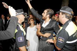 Un activista del 15-M fue detenido tras increpar a Bauzá durante la Nit de l'Art