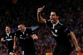 El Sevilla da la campanada en Old Trafford y elimina al Manchester United