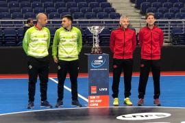 Máximo respeto entre el Palma Futsal y ElPozo en las horas previas al partido de Copa