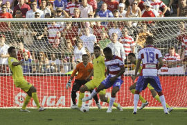 Uche da el primer triunfo al Granada ante un Villarreal que no despega