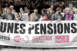 Los jubilados tomarán la calle el sábado para defender las pensiones