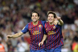 El Barça borda una primera parte de lujo, con un estelar Messi