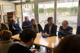 Company promete que el PP resolverá los problemas de los barrios de Palma