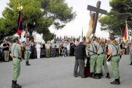 La Hermandad de los Legionarios celebra su 41 aniversario en el castillo de San Carlos