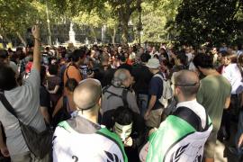 Protesta de los 'indignados' contra el «golpe de Estado» de los mercados