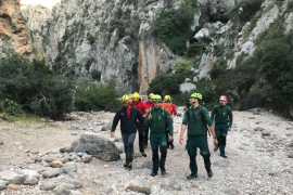Fallece un excursionista alemán en el Torrent de Pareis