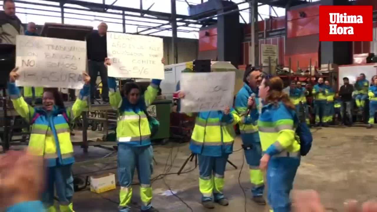 Trabajadores de Emaya denuncian malas condiciones laborales y ratas en los vestuarios