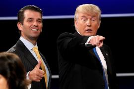 El hijo mayor de Trump y su esposa oficializan su divorcio