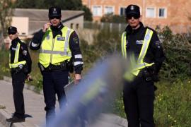 Herida una policía al seguir a un conductor ebrio y temerario en Palma