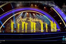 'Just kidding' sorprende en la semifinal de 'Got Talent España'