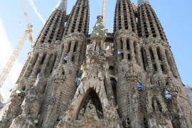 Investigados los `youtubers´ que escalaron la Sagrada Familia