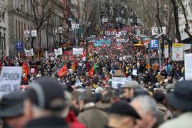 Decenas de miles de personas claman en toda España por unas pensiones dignas
