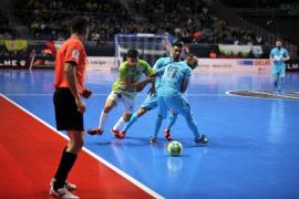 El Palma Futsal cae ante el Movistar Inter y se despide de la Copa de España