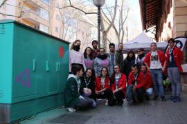 Arte urbano «participativo y feminista» en Palma para conmemorar el 8M