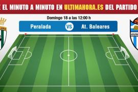 Peralada-Atlético Baleares, en directo