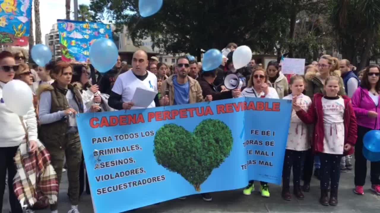 Concentración en Palma por la no derogación de la prisión permanente revisable
