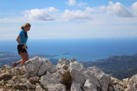 Casey Morgan y Rachael Campbell, ganadores de la primera edición de la 'Galatzó Trail'