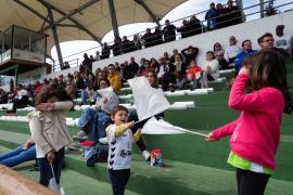 El partido entre la Peña Deportiva y el Hércules, en imágenes