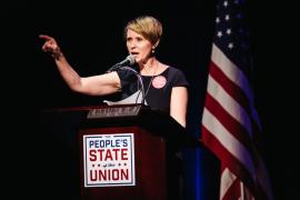 La actriz de 'Sexo en Nueva York' Cynthia Nixon anuncia que será candidata a gobernadora de Nueva York