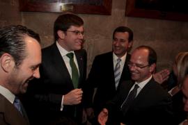 osé Ramón Bauzá, Martí Sansaloni, Biel Company y Simon Gornés