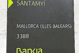 Miquel Ensenyat lamenta los errores tipográficos en las placas de Bankia