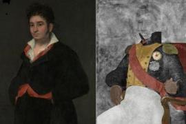 Hallan en Holanda un retrato de Goya oculto bajo otra de sus pinturas