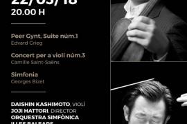 Duodécimo concierto de la Temporada 17/18 de la Orquestra Simfónica en el Auditórium de Palma