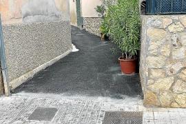 El PP de Calvià denuncia el asfaltado de varios pasajes particulares con dinero público