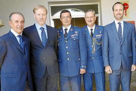 Víctor Manuel Navarro, nuevo coronel jefe del Sector Aéreo de Palma