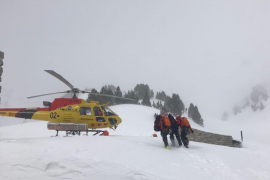 Un alud causa la muerte de dos esquiadores en el Vall d'Aran