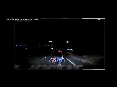 La Policía muestra el vídeo del accidente mortal del coche autónomo de Uber