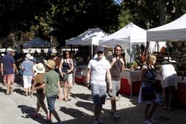 El Mercado Artesanal de s'Hort del Rei inicia este sábado su octava edición