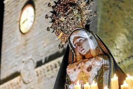 Tras el Novenario hoy por la noche comienzan las procesiones de Ibiza