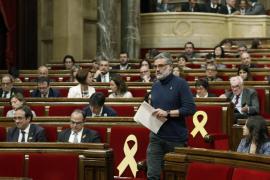 La CUP critica «discurso autonomista» de Turull y da por acabado el «procés»