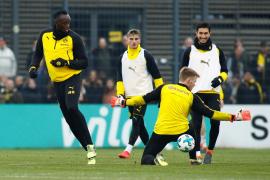 Usain Bolt 'ficha' por el Borussia Dortmund