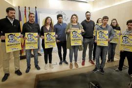 Palma acoge este sábado una manifestación para pedir la absolución de Valtonyc y exigir libertad de expresión