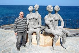 Joan Bennàssar instala sus figuras en espacios públicos de Sóller