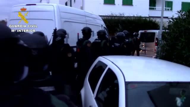 34 detenidos en Mallorca en el desmantelamiento de 17 puntos de elaboración y venta de droga