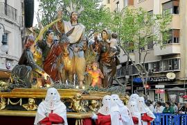 La procesión de Ramos recorrerá el centro de Palma