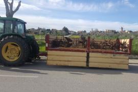 La Guardia Civil recupera herramientas y útiles de labranza antiguos robados en Sineu