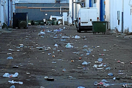 Decenas de jóvenes borrachos provocan incidentes en el polígono de Son Castelló