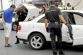 Primer gran control policial en Son Gotleu tras los graves altercados
