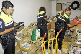 Intervienen 80.000 relojes falsos en la Platja de Palma