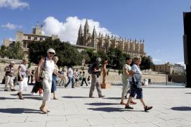 Aumenta un 8,5% la llegada de turistas a Balears en agosto