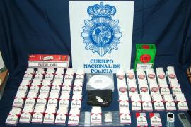 Desarticulan una red de narcotraficantes que camuflaba la droga en paquetes de tabaco