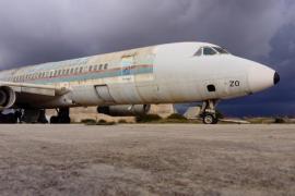 El Consell de Mallorca impulsará un plan para restaurar el avión 'Coronado', cuya catalogación se mantiene
