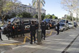 Llegan a Mallorca refuerzos para prevenir incidentes en la visita de los Reyes