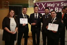Gabriel Lucas, elegido el mejor sumiller de Baleares 2018