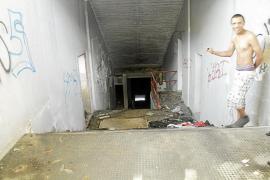 La Policía Nacional desaloja a los 'okupas' del Lluís Sitjar